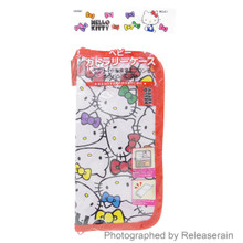 Skater Sanrio Hello Kitty Baby Cutlery Utensil Organizer Pouch Storage Case Bag Japan Import