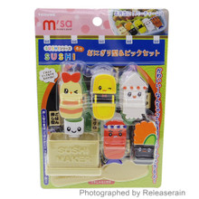 Torune Mama's Assist Bento Sushi-Style Mould Maker Spoon Picks Party Kit Japan Import