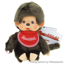 Original Sekiguchi Monchhichi Boy Premium Standard S Size 19cm Brown Stuffed Plush Doll Japan Import