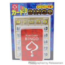 Hanayama Portable Bingo Paper Card Game Toy Set Made in Japan