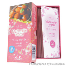 Nippon Kodo Kataribe My Favorite Aroma Fresh Strawberry Japanese Incense Sticks 90g Made in Japan
