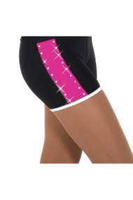 Jerry's 457 Crystal Colours Ice Skating Shorts - Pink