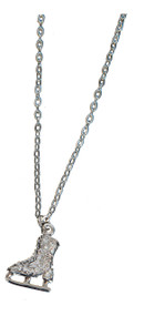 Jerry's #1280 Ice Skate Necklace (Clear)