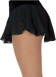 313 Jerry's  Single Georgette Skirt - Black
