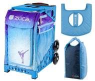 uca Sport Bag - Ice Dreamz with Gift Stuff Sack and Seat Cover (Blue Frame)