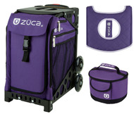 Zuca Sport Bag - Rebel with Gift Lunchbox and Seat Cover (Black Frame)