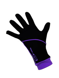 """Icedress - Thermal Figure Skating Gloves """"IceDress"""" (Black and Purple)"""
