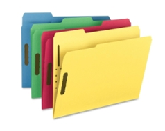 Colored Fastener Folders