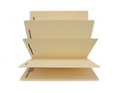 3 Divider Folders