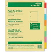 Avery Office Essentials Economy Insertable Tab Dividers - 2
