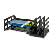 Business Source Combo 2-Tray Vertical Organizer