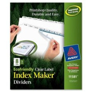 Avery Eco-friendly Index Divider - 1