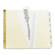 Avery Data Binder Tab Divider