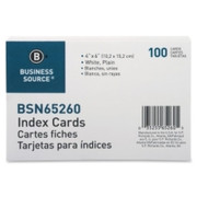 Business Source Plain Index Card - 1