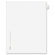 Avery Individual Legal Dividers - 1