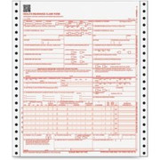 TOPS CMS-1500 Insurance Continuous Forms