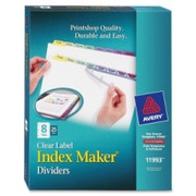 Avery 8-Colored Tabs Presentation Divider - 1
