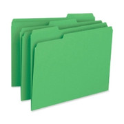 Business Source Color-coding Top Tab File Folder - 1
