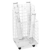 Safco 4 Compartments Wire Storage File