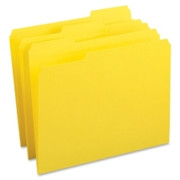 Business Source Color-coding Top Tab File Folder - 2