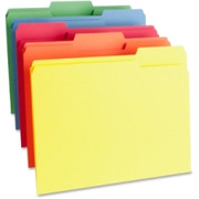 Business Source Color-coding Top Tab File Folder - 4