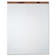 """TOPS 1"""" Grid Square Ruled Easel Pad"""