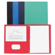 Business Source Two Pocket Folder - 4