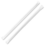 Genuine Joe Jumbo Translucent Wrapped Straw