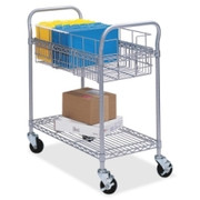 Safco Wire Mail Cart - 1