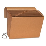 Smead 70121 Kraft Expanding Files with Flap and Elastic Cord