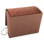 Smead 70318 Leather-Like TUFF Expanding Files with Flap and Elastic Cord