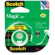 Scotch Magic Tape with Handheld Dispenser