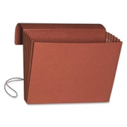 Smead 71111 Redrope Expanding Wallets with Elastic Cord