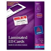 Avery Laminated I.D. Card