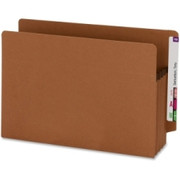 Smead 73611 Redrope 100% Recycled End Tab Extra Wide Pocket