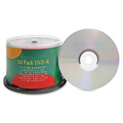 Compucessory DVD Recordable Media - DVD-R - 16x - 4.70 GB - 50 Pack