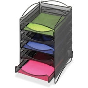 Safco 5 Drawer Mesh Desktop Organizer