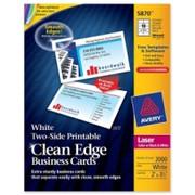 Avery Clean Edge Business Card