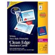 Avery Clean Edge Business Card - 1