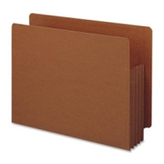 Smead 73780 Redrope Extra Wide End Tab TUFF Pocket File Pockets with Reinforced Tab