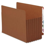 Smead 73795 Redrope Extra Wide End Tab TUFF Pocket File Pockets with Reinforced Tab