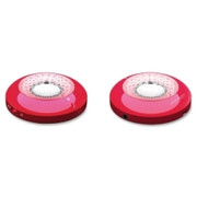 Compucessory Speaker System - 1 W RMS - Wireless Speaker(s) - Red