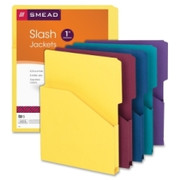 Smead 75445 Assortment Expanding Slash Jacket