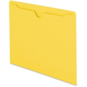 Smead 75511 Yellow Colored File Jackets