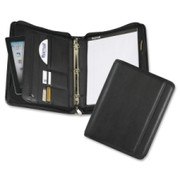 Samsill Sterling Zipper Pad Holder/Ring Binder