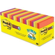Post-it Super Sticky Notes 24 Pad Cabinet Pack