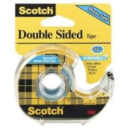 Scotch Double Sided Tape with Handheld Dispenser