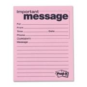 Post-it Telephone Message Pad