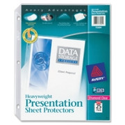 Avery Diamond Clear Top Loading Sheet Protector - 5