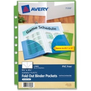 Avery Foldout Binder Pocket